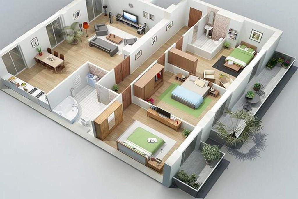Thiết kế và xây dựng nhà cấp 4 ở các quận, huyện TPHCM - Hà nội