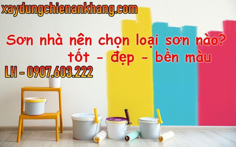 Tư vấn chọn màu sơn hợp ngôi nhà, thiết kế sơn nhà tại tân bình, tư vấn sơn nhà biệt thự, sơn nhà trọ, sơn lại văn phòng, chung cư cao cấp.