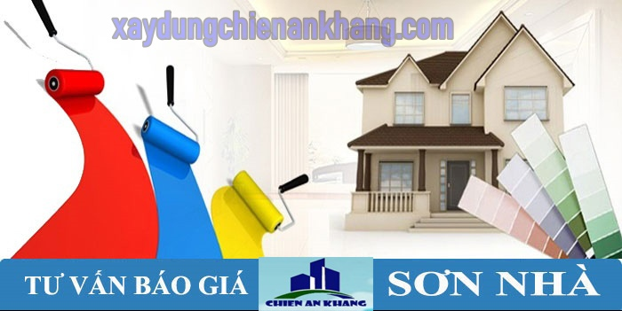 Dịch vụ sơn nhà uy tín tại quận bình tân, thi công sơn lại nhà nhanh, sơn nhà mới mua về.