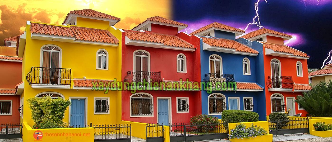 Thi công lăn sơn nhà đẹp giá rẻ ở tại bình chánh, nhận sơn sửa lại chung cư cao cấp, sơn lại nhà cho thuê.