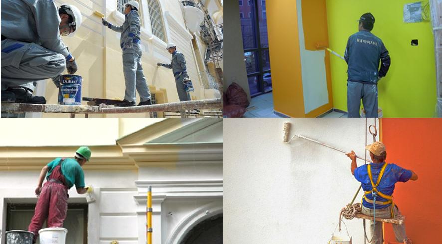 Dịch vụ sơn nhà đẹp tại bình thạnh, sơn nhà giá rẻ, thợ sơn nước trọn gói.