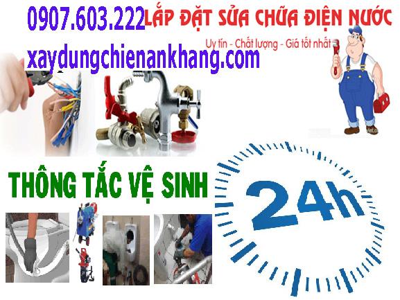thợ sửa điện nước bình chánh, lắp đặt điện giá rẻ, nhận thi công ống nước gia đình.