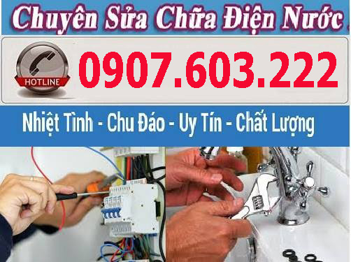 Dịch vụ sửa chữa điện nước tại củ chi giá rẻ