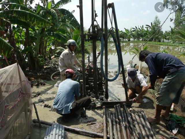 thợ khoan giếng nước tại tỉnh bình dương