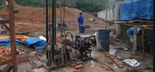 khoan giếng gia đình tại huyện cai lậy, khoan giếng công nghiệp tại tiền giang
