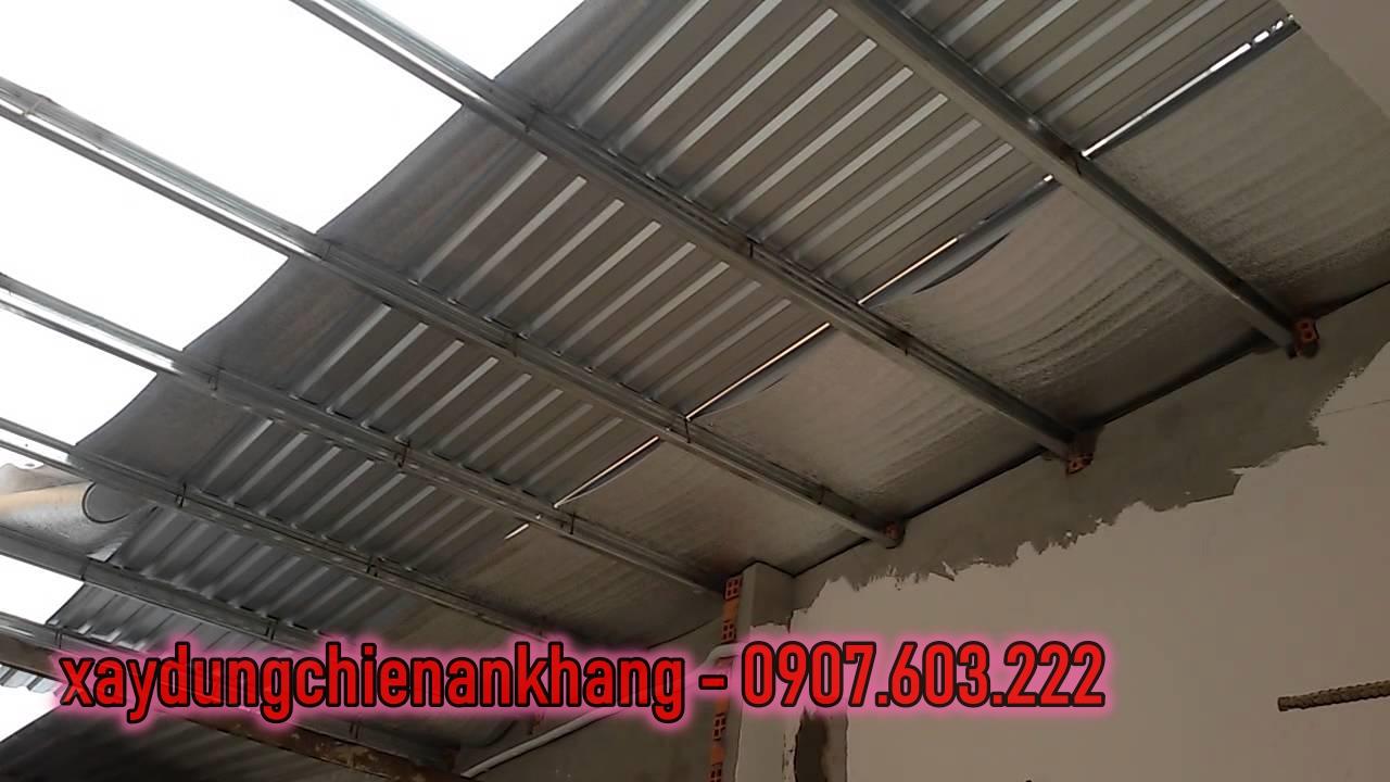 dịch vụ làm mái tôn ở bình thạnh, nhận lợp mái tôn chống nóng, mái tôn xốp, báo giá mái tôn rẻ.
