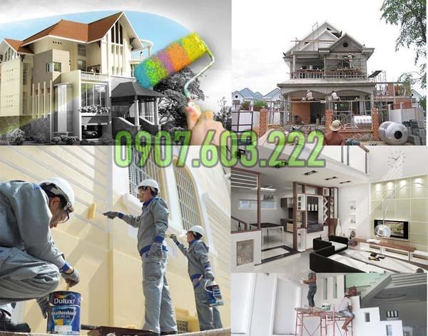 Dịch vụ sơn nhà trọn gói tại tphcm, chuyên sơn nhà trọn gói giá rẻ. Thợ sơn nhà chuyên nghiệp ở tại TPHCM, sơn sửa lại nhà cũ, nâng cấp nhà cấp 4, nâng cấp nền nhà.