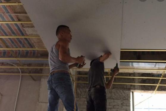 thi công trần thạch cao giật cấp khu vực củ chi hcm